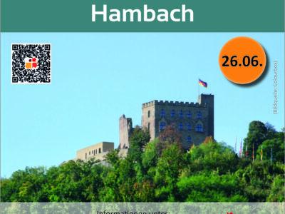 Wanderung Hambacher Schloss